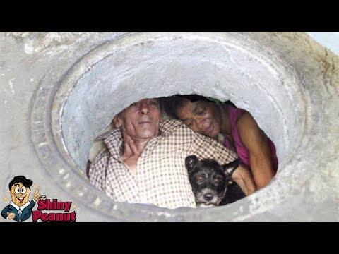 Pasangan Ini Hidup Bahagia Selama 22 Tahun Di Gorong-gorong