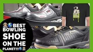 The BEST bowling shoes on the planet! Dexter SST6 BOA VS Hammer Boss Bowling Shoes. Out of The Box
