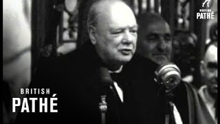 Selected Originals - Churchill Receives Freedom Of Worcester (1950)