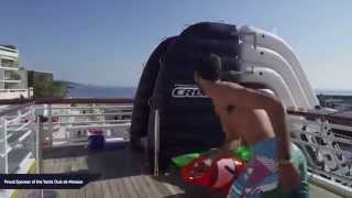 The Hybrid Slide at Yacht Club de Monaco