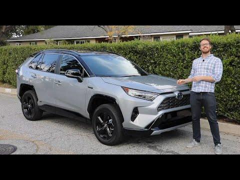 2020 Toyota RAV4 Hybrid Test Drive Video Review
