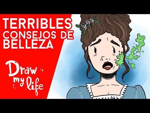Los TRUCOS de belleza MÁS PELIGROSOS - Draw My Life en Español