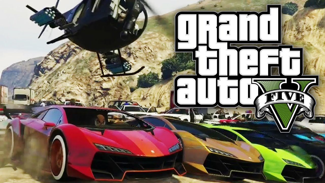 Fastest Car In The World Wallpaper Gta 5 Online Us Against An Army Gta V Online Youtube