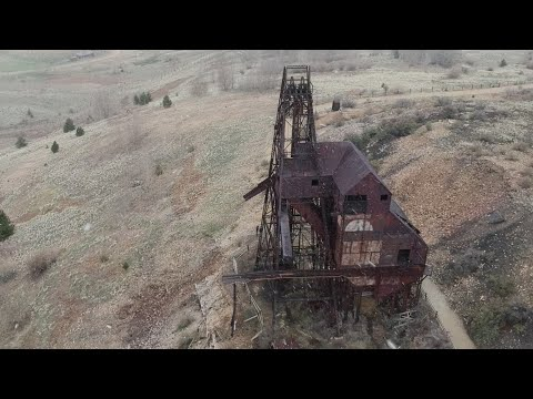 Abandoned Gold Mines Near Victor, Colorado