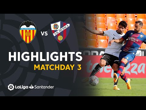 Valencia Huesca Goals And Highlights