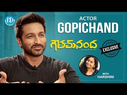 Goutham Nanda Movie Hero Gopichand Exclusive Interview || Talking Movies With iDream #451
