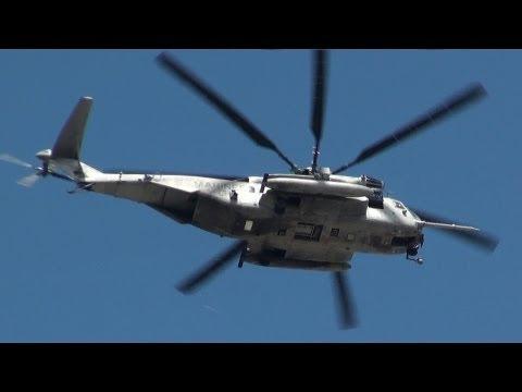 [普天間基地] CH-53E Super Stallion takeoff&landing MCAS Futenma