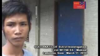 KAILU in BAY sin United TAUSUG PEOPLE of the SULTANATE OF SULU Darul Islam - Part 4/9
