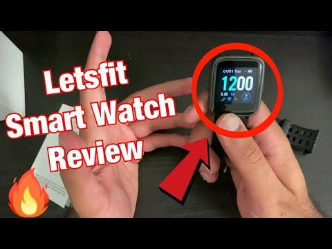 Letsfit Smart Watch Activity Fitness Tracker Review