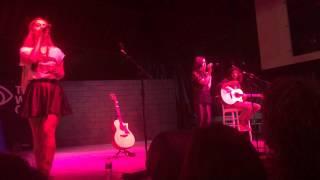 "Megan and Liz ""TRL"" at NYS Fair 8/30"