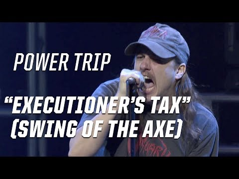 Power Trip Levy the Executioners Tax Swing of the Axe  2017 Loudwire Music Awards