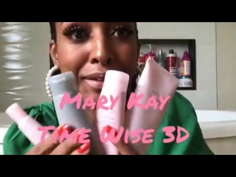 RESENHA - KIT MARYKAY Time Wise 3D.