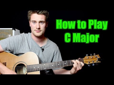 how-to-play---c-major-(chord,-guitar)