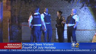13 Killed, 88 Wounded In July 4th Weekend Shootings