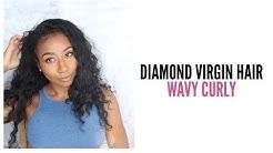 ♡ Diamond Virgin Hair Company⎮Wavy Curly⎮Natural Texture