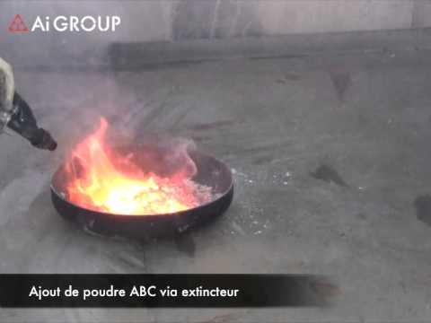 Feu Magnesium - Magnesium Fire - MG20