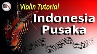 Indonesia Pusaka  - Tutorial Belajar Biola By Ellert R. Ngutra