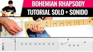 Bohemian Rhapsody SOLO  (Tutorial y ajustes de sonido) Clase de guitarra completa  | Guitarraviva