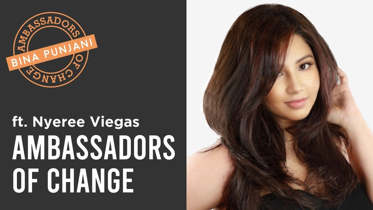 Ambassadors of Change - Nyeree Viegas | Bina Punjani Hair Studio, Goa | Hair Transformations