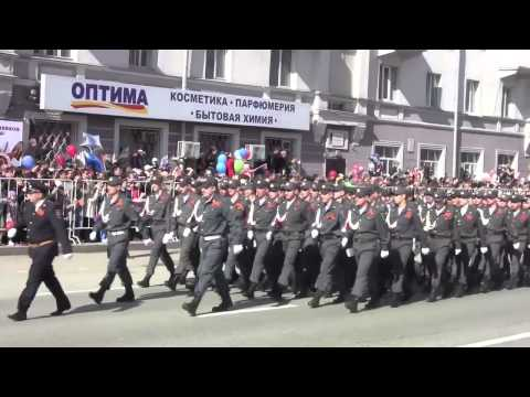 Парад Победы, г. Тюмень, 9 мая 2013 г.