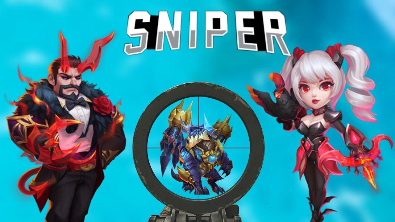 Demon stalker In Team | Guildwar | Good Sniper...? | Castle Clash