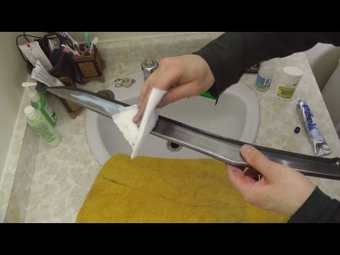 How to clean and maintain swords or other carbon steel blades