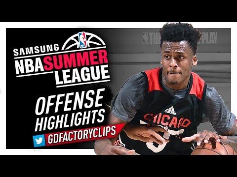 Antonio Blakeney Offense Highlights (2017 Summer League) - Chicago Bulls Debut!