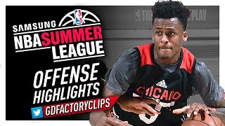 Antonio Blakeney Offense Highlights (2017 Summer League) - Chicago Bulls Debut!