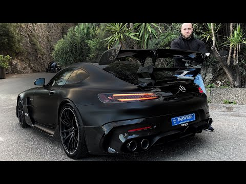 AMG GT BLACK SÉRIES 😱😨 !! J'AI FAILLI ME TUER 🥵🔥 !!