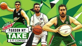 Pardon My Take 3 Point Contest Presented by Mountain Dew