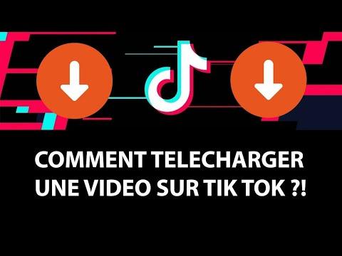 TUTO: Comment télécharger une vidéo Tik Tok !