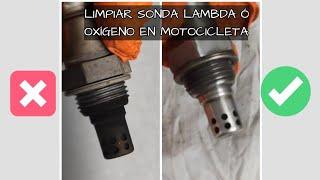LIMPIAR SONDA LAMBDA EN MOTOCICLETA