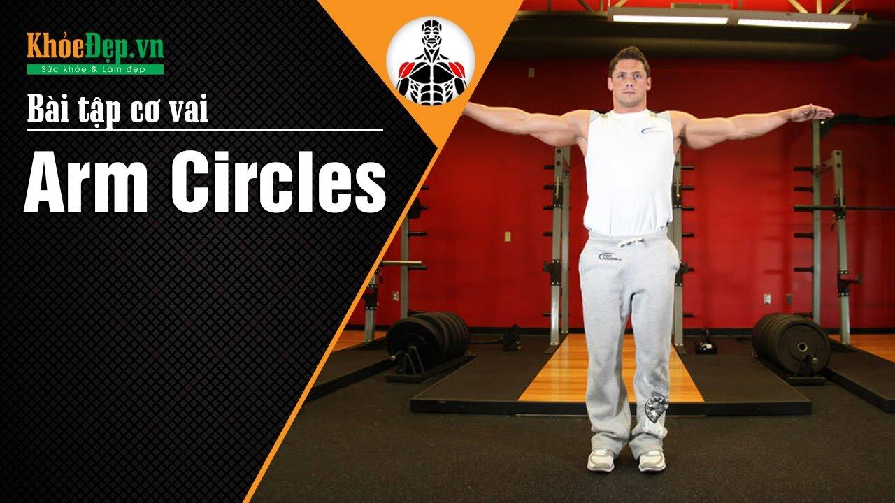 Bài tập vai tại nhà | Arm Circles đơn giản nhưng cực kỳ hiệu quả | KhoeDep.vn