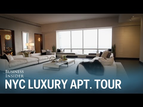 Touring a $27.3 million apartment in NYC's One57