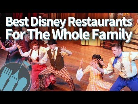 Best Disney World Restaurants for the Whole Family!