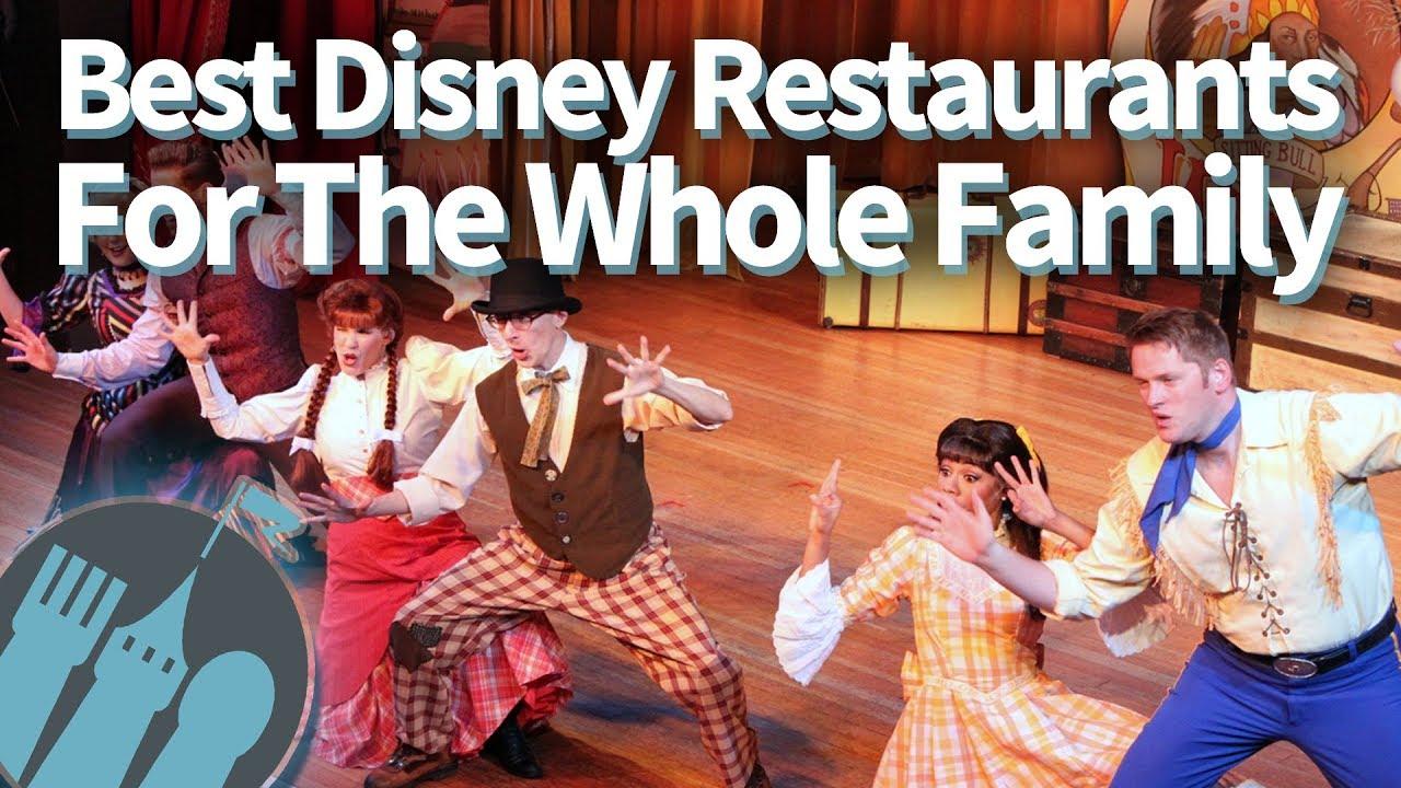 Best Disney World Restaurants For The