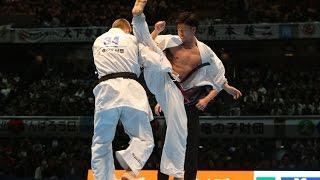 新極真会 The 11th World Karate Championship Men 5th round2 Ikuma