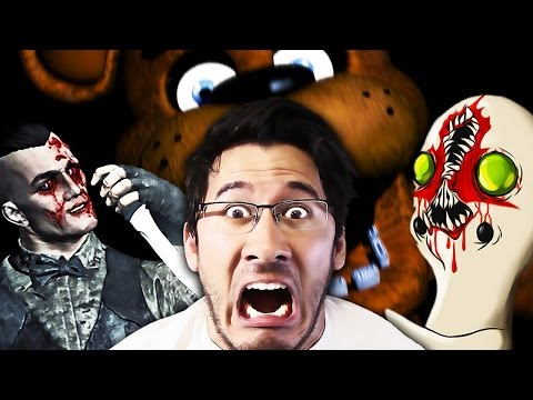 Thumbnail: Random Horror Reaction Compilation #9: Five Nights at Freddy's, Outlast, SCP, and MORE!!