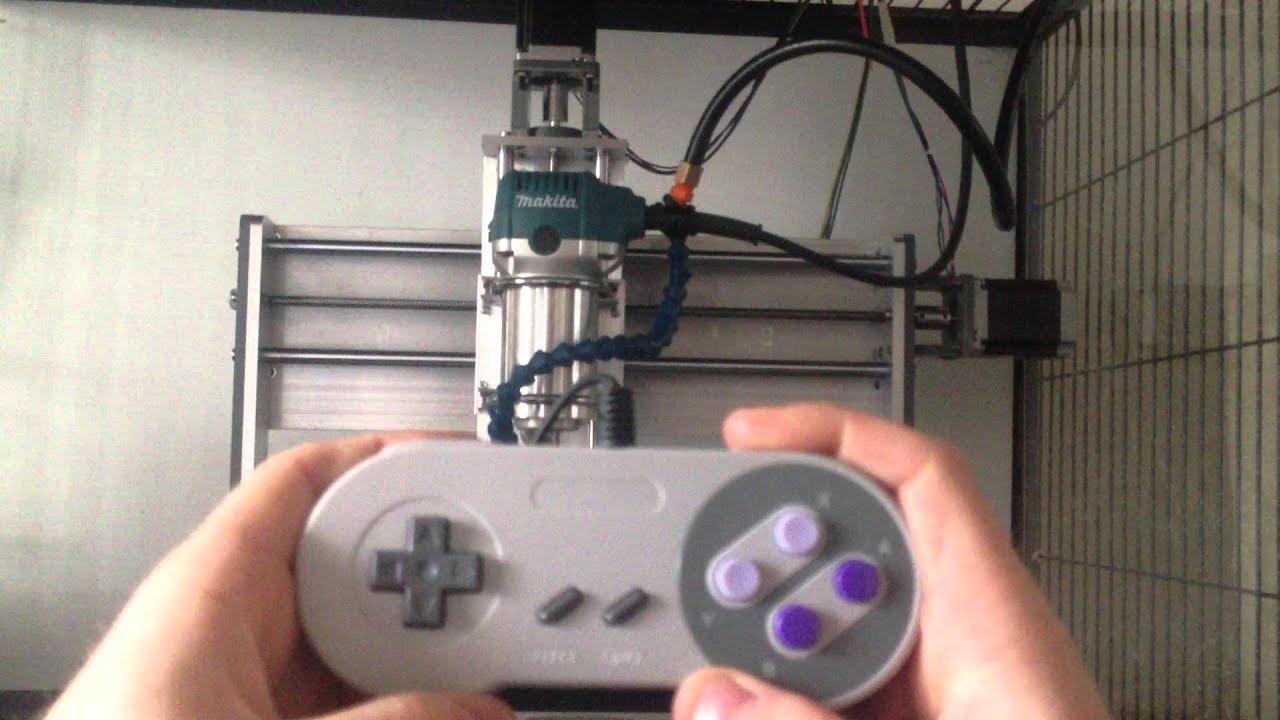 Controlling Cnc Machine With Super Nintendo Controller