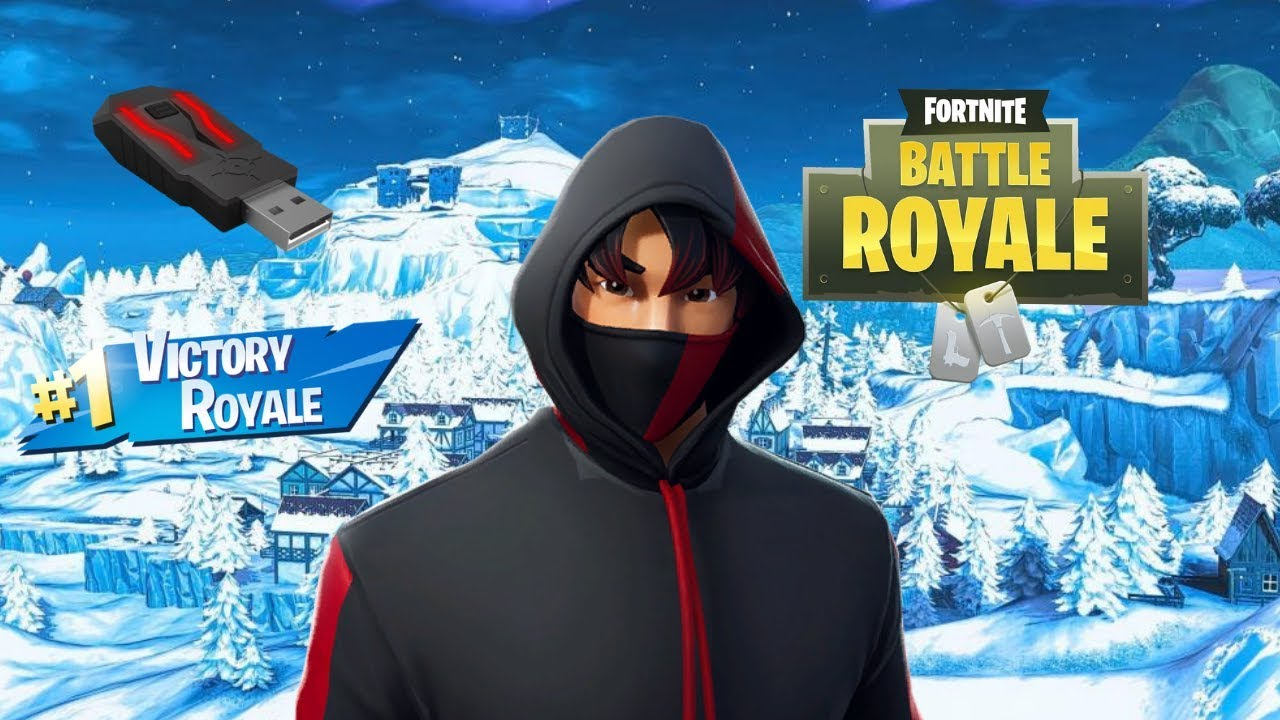 Xim Apex Fortnite Ps4 18 Kills Solo Gameplay Mouse And