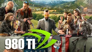 "980Ti Gaming in 2018 \ ""Far Cry 5"" ""Pubg"" and More"