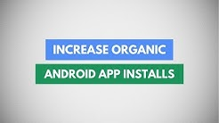 Increase Organic App Downloads In Google Play Store | App Store Optimization To Rank Your App