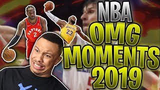 So Many Difficult Basketball Shots Made!! |NBA OMG Moments of 2019