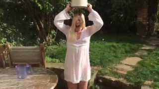 Louise Dearman #ALS Ice bucket challenge