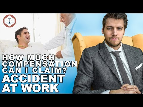 Accident At Work Compensation Claims Amounts? ( 2021 ) UK