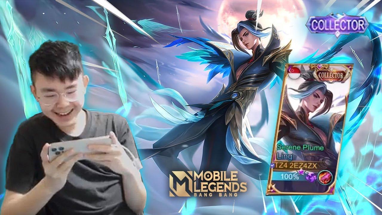 SKIN LING INI YANG PALING MANTAP DI ANTARA SEMUA SKIN COLLECTOR LAINNYA! -Mobile Legends