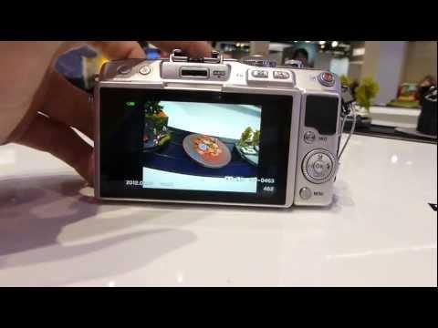Olympus Pen Lite (E-PL5) Camera Hands On