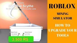 Roblox Mining Simulator - Wie Sie Ihre Tools aktualisieren