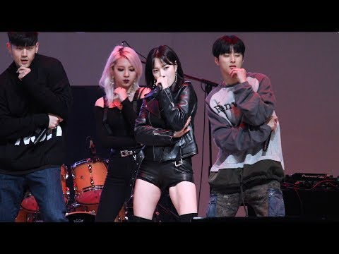 [4K] [181013] KARD 카드 (Jeon Somin 전소민 ) - Oh NaNa 오나나  (청춘콘서트) 직캠/Fancam By PIERCE