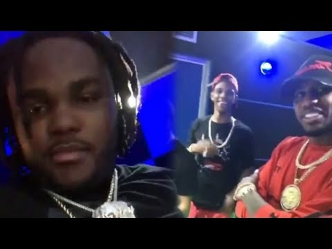 Tee Grizzley, A Boogie, Fabolous, & Don Q IN THE STUDIO